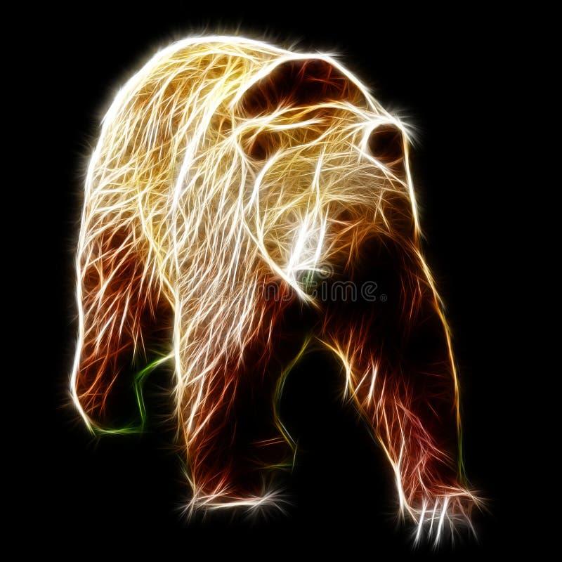 brun manlig för björn arkivfoto