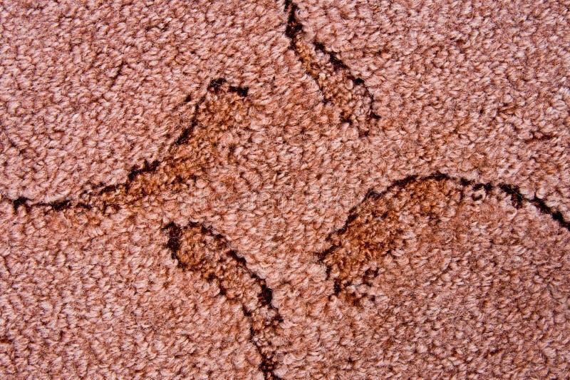 brun matta präglad modell arkivbild