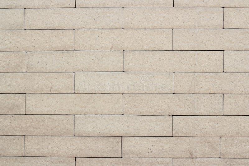 Brun modell för tegelstenvägg arkivfoto