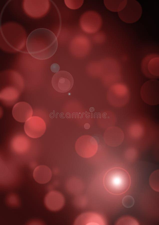 Brun orange bakgrundsbokehsuddighet 3 arkivbild