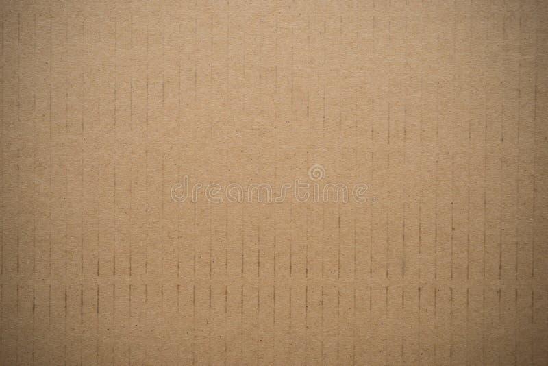 Brun papp eller paperboard royaltyfria foton