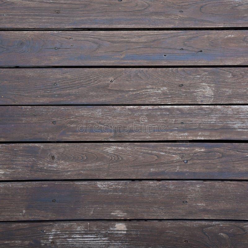 Brun planka för trä fotografering för bildbyråer