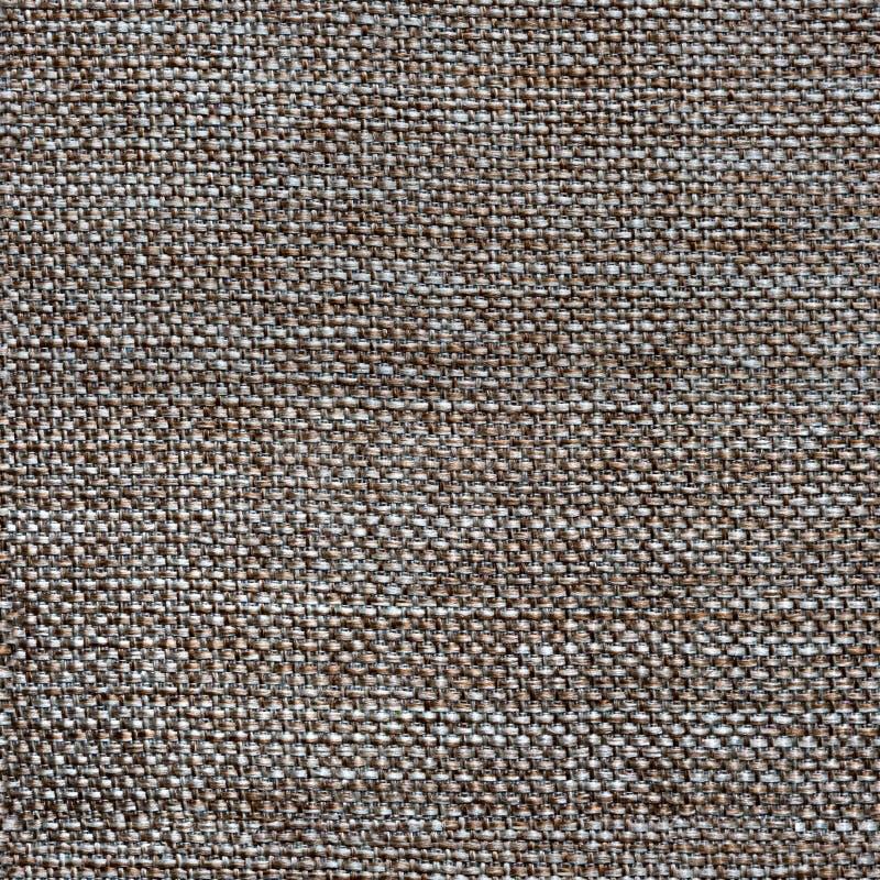 Brun sömlös textur för tyg royaltyfri bild
