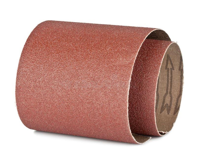 Brun sandpapper arkivbild