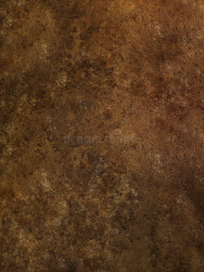 Brun textur för travertinemarmoryttersida royaltyfri foto
