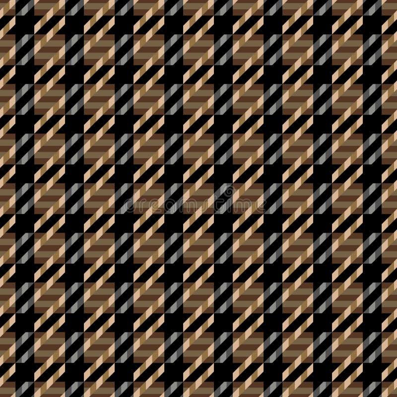 brun texturtweed vektor illustrationer