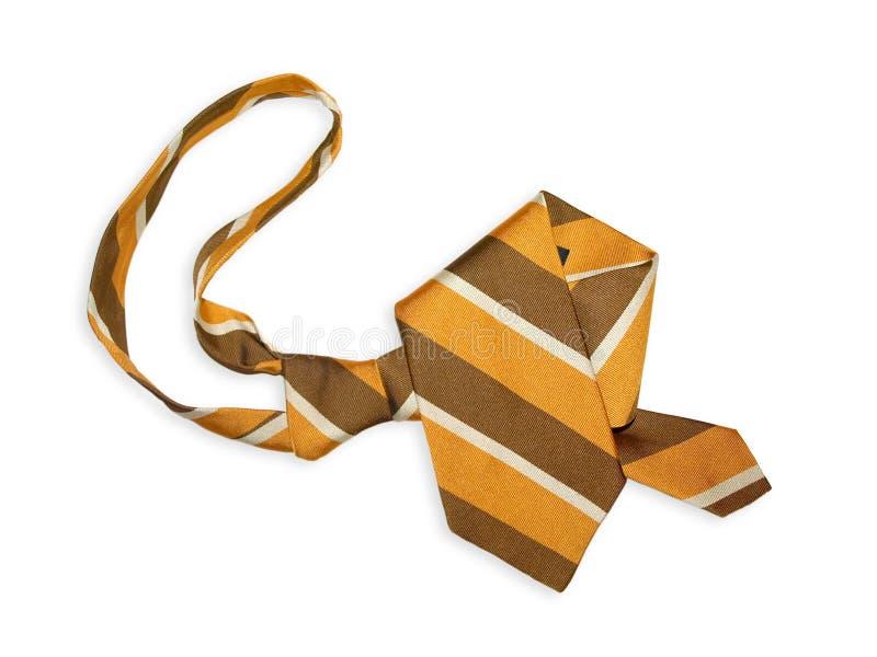 brun tie royaltyfria bilder