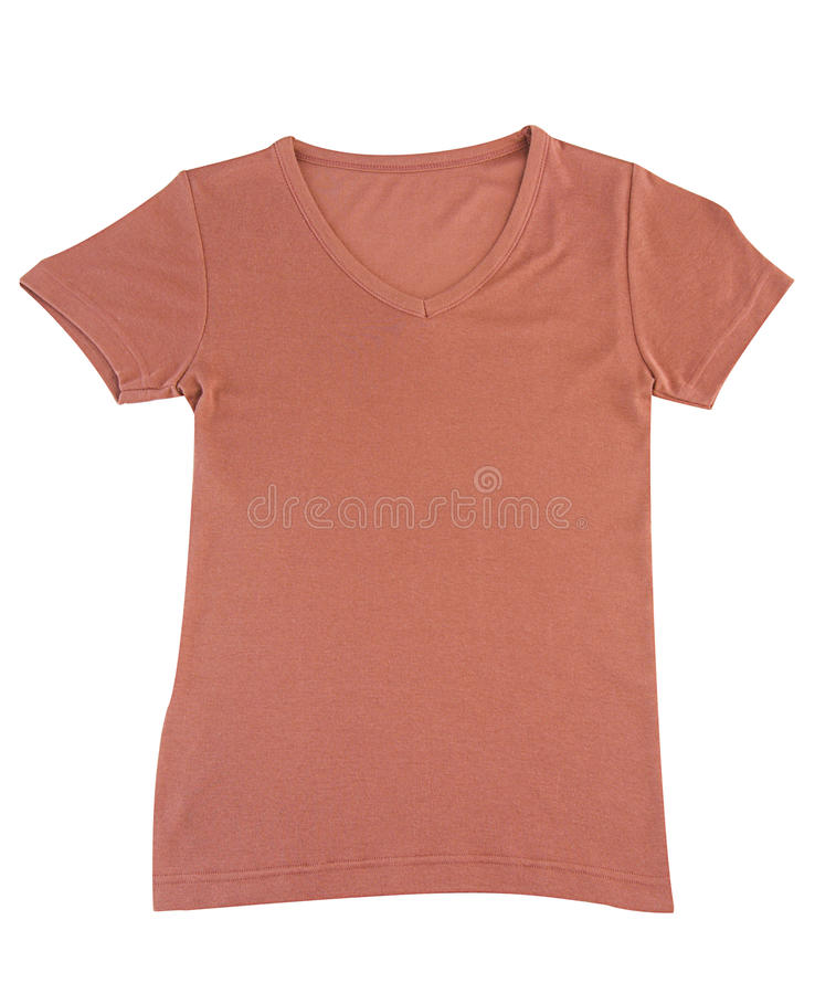 brun trevlig skjorta t arkivfoto