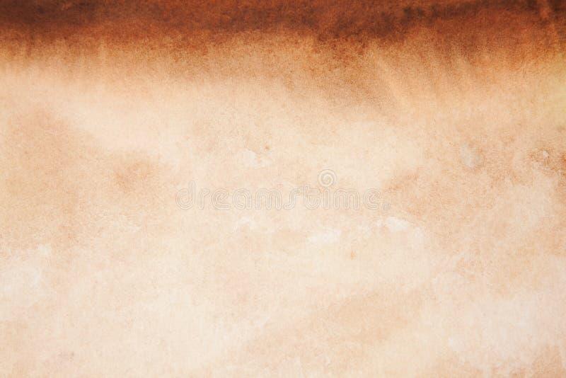 brun vattenfärg för bakgrund royaltyfri foto