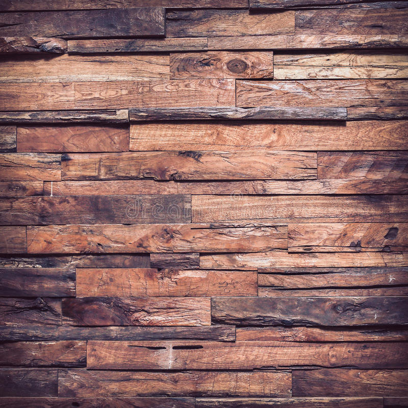 Brun wood plankabakgrund för timmer royaltyfria foton