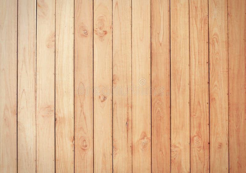 Brun wood plankaväggtextur royaltyfri foto