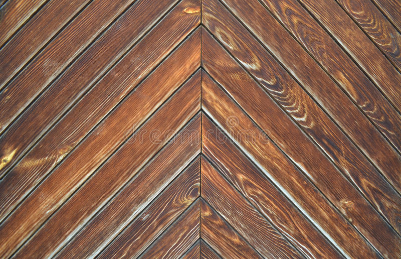 Brun wood textur från bräden royaltyfria bilder