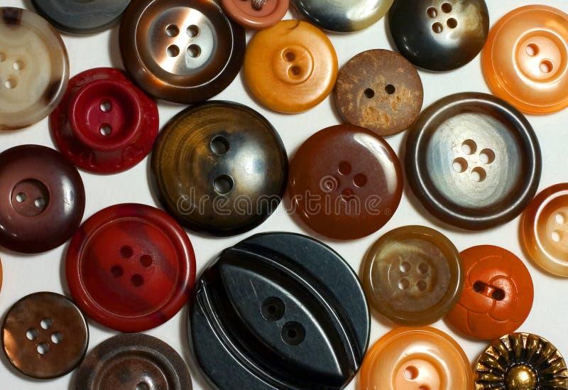 Download Bruna knappar fotografering för bildbyråer. Bild av cirklar - 42497