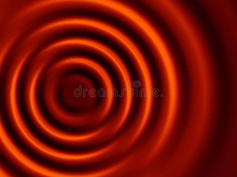 bruna koncentriska krusningskupor fotografering för bildbyråer