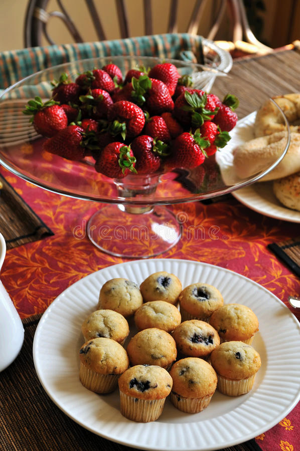 Download Brunch stock image. Image of plates, food, blueberry - 11144813