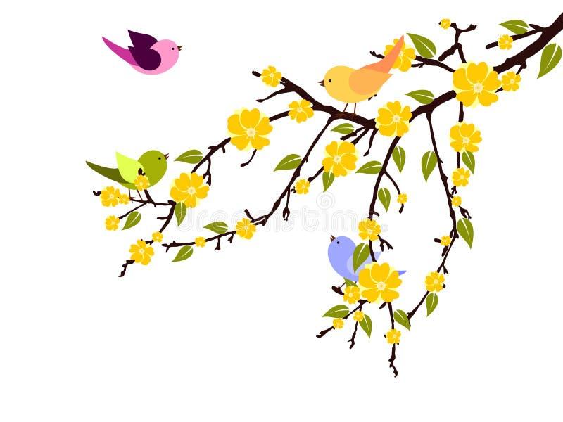 Download Brunch with birds stock illustration. Illustration of image - 23835717