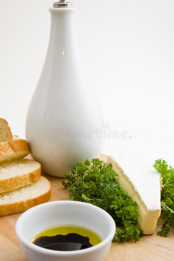 Download Brunch with olive oil stock photo. Image of grain, bake - 6873470