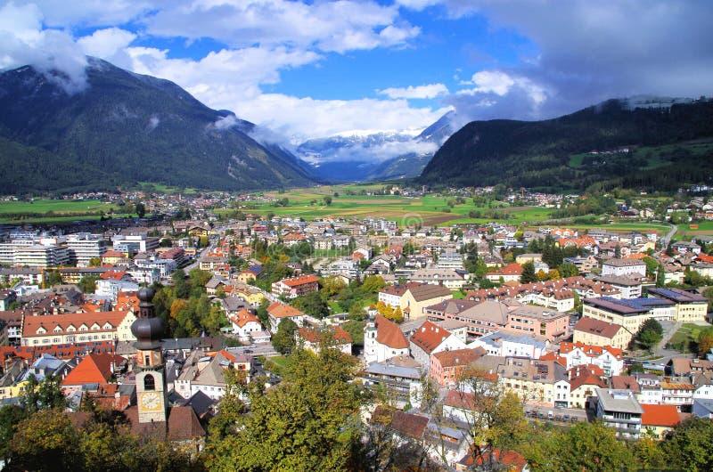 Bruneck Италия стоковая фотография rf