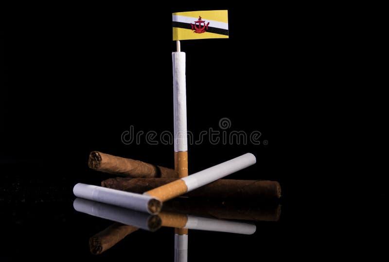 Download Brunei-Flagge Mit Zigaretten Und Zigarren Stockfoto - Bild von regierung, getrennt: 96935770