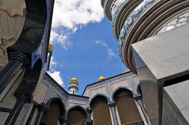 brunei meczet obrazy stock