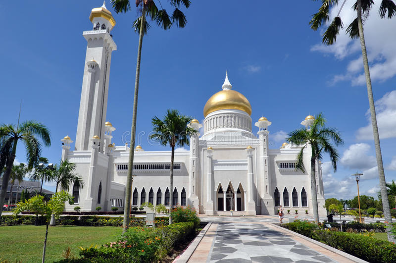 Bruneian Mosque royalty free stock photos