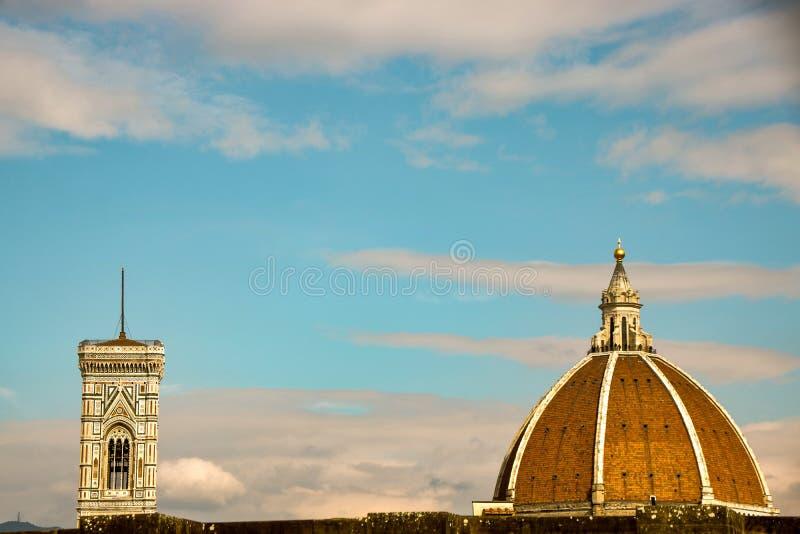 Brunelleschi-Haube lizenzfreie stockbilder