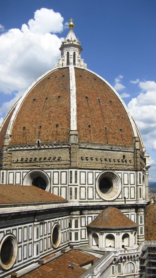 Brunelleschi-Haube, Florenz, Italien stockbild