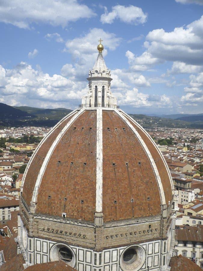 Brunelleschi-Haube, Florenz, Italien lizenzfreies stockfoto