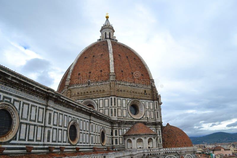 Brunelleschi kupol Florence arkivfoto