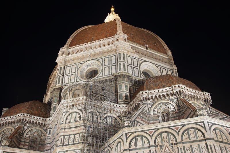 Brunelleschi kupol i Florence royaltyfri bild