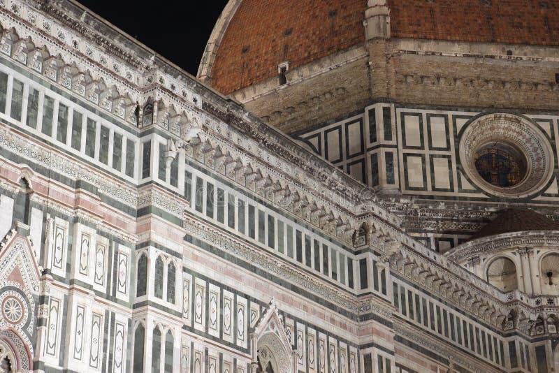 Brunelleschi kupol i Florence royaltyfria foton
