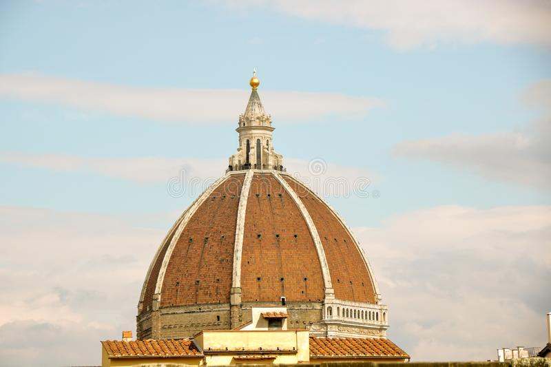 Brunelleschikoepel royalty-vrije stock foto