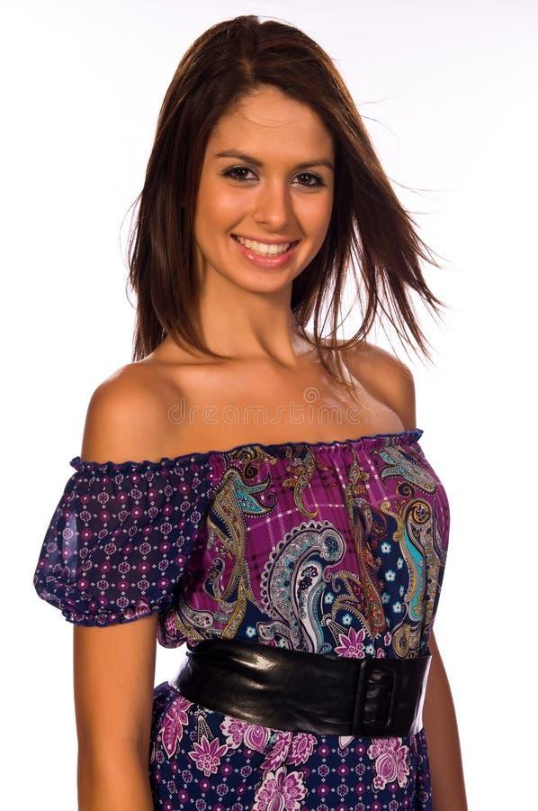 brunetka zdjęcia stock