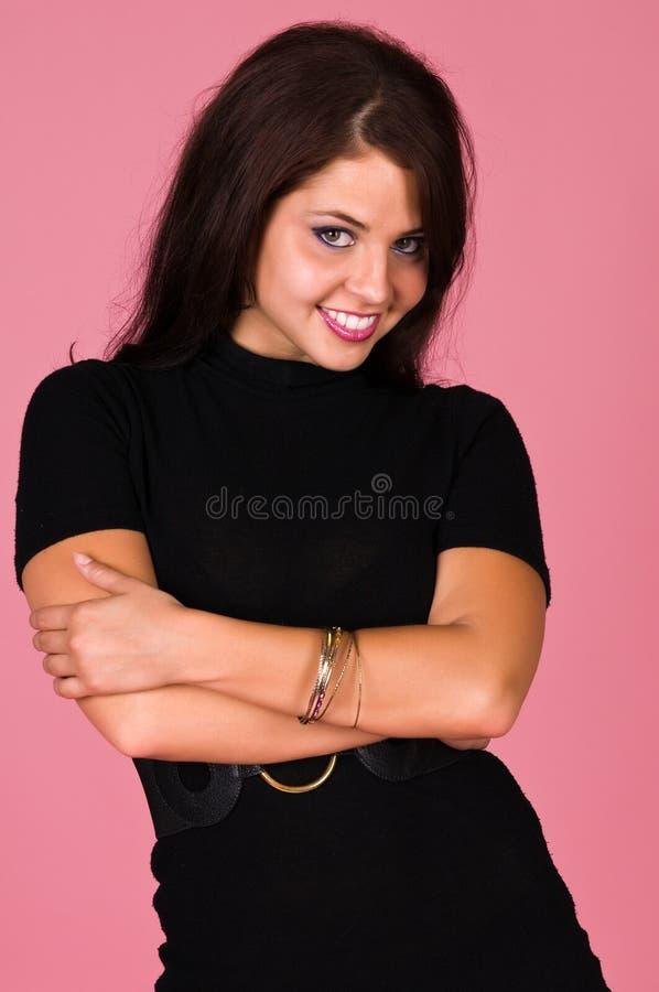brunetka obrazy stock
