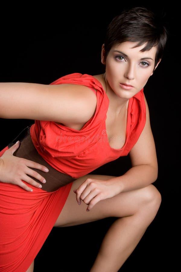 brunetka model obrazy stock