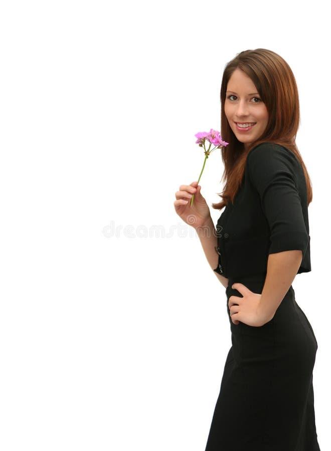 brunetka piękności fotografia stock