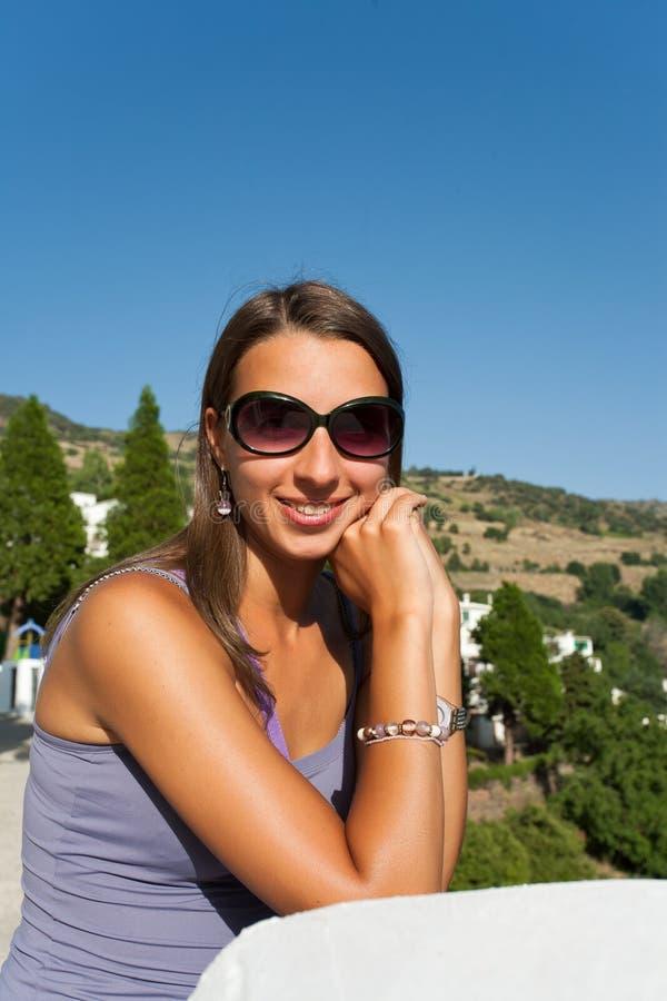 brunetka portret fotografia royalty free