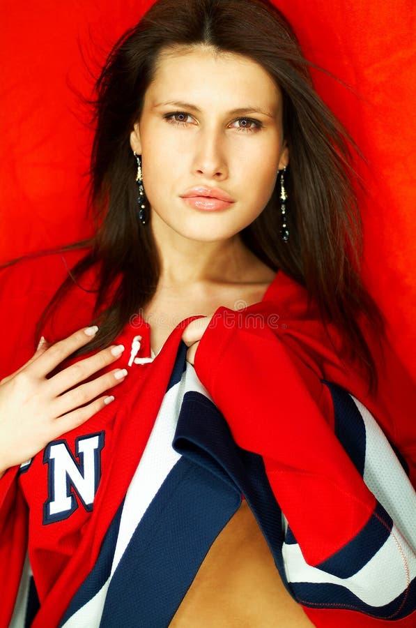 brunetka portret sexy zdjęcie royalty free
