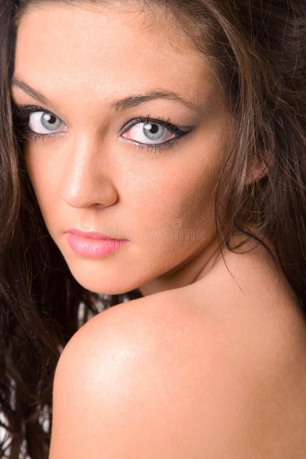 brunetka seksowna zdjęcie stock