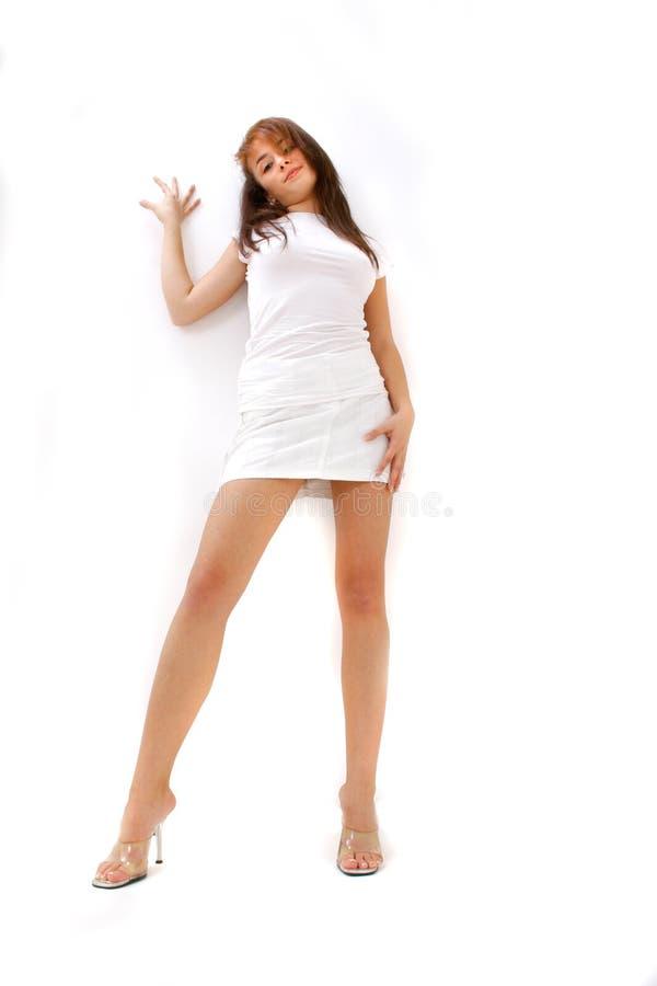 brunetka uwodzicielska obraz royalty free