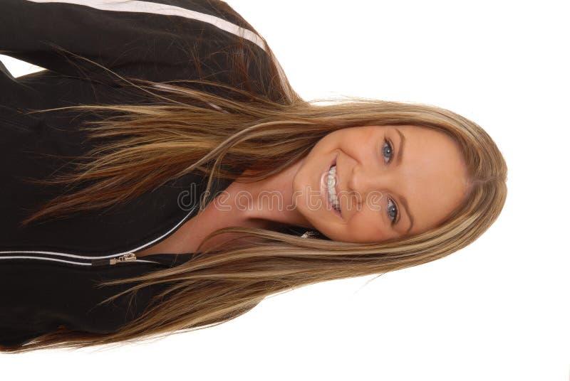 brunetki 1 urocza kobieta zdjęcie royalty free