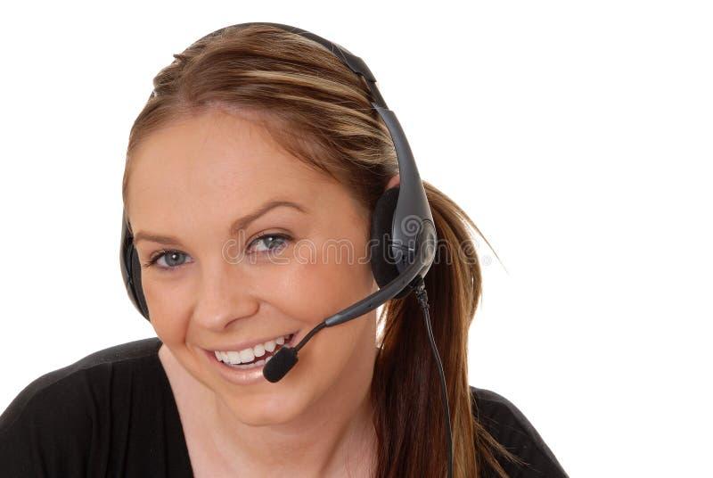 brunetki 7 telefoniczna kobieta zdjęcia stock