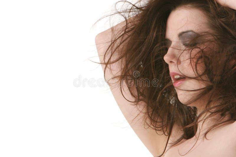 brunetki seksowna kobieta zdjęcia stock