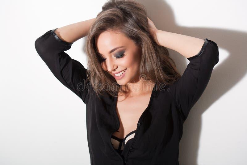 brunetki seksowny wspaniały obrazy royalty free