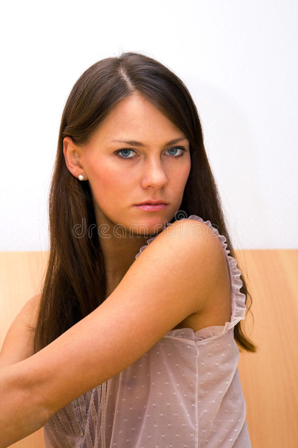 Download Brunette stock photo. Image of charming, pose, sexual - 10248388
