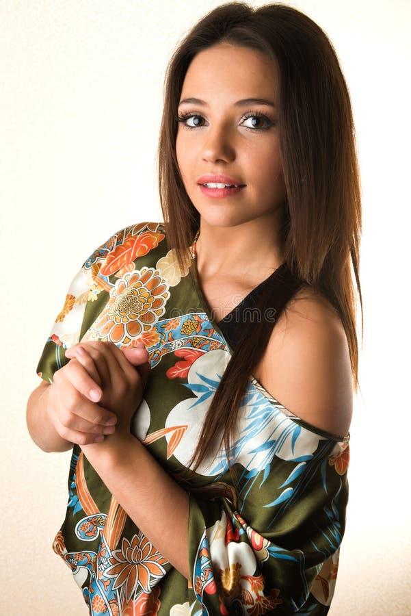 Brunette royalty-vrije stock foto's