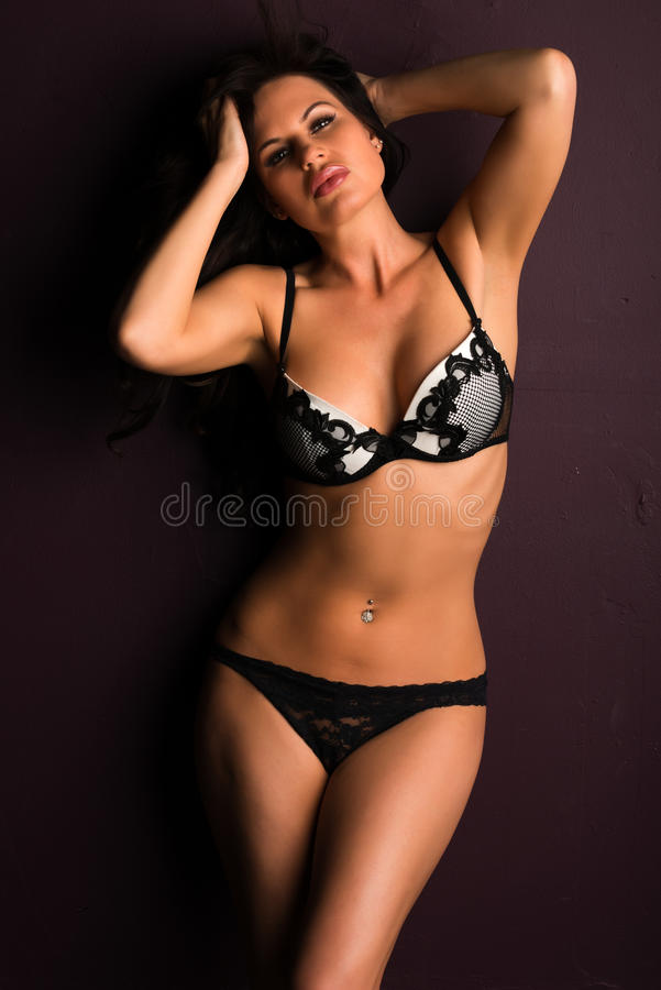 Download Brunette stock photo. Image of gorgeous, shapely, black - 32666602