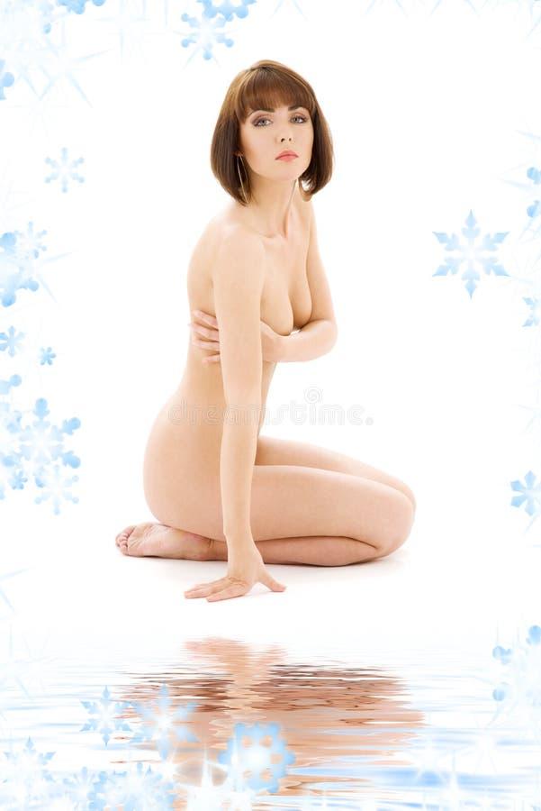 Download Brunette descubierto sano imagen de archivo. Imagen de higiene - 7280039