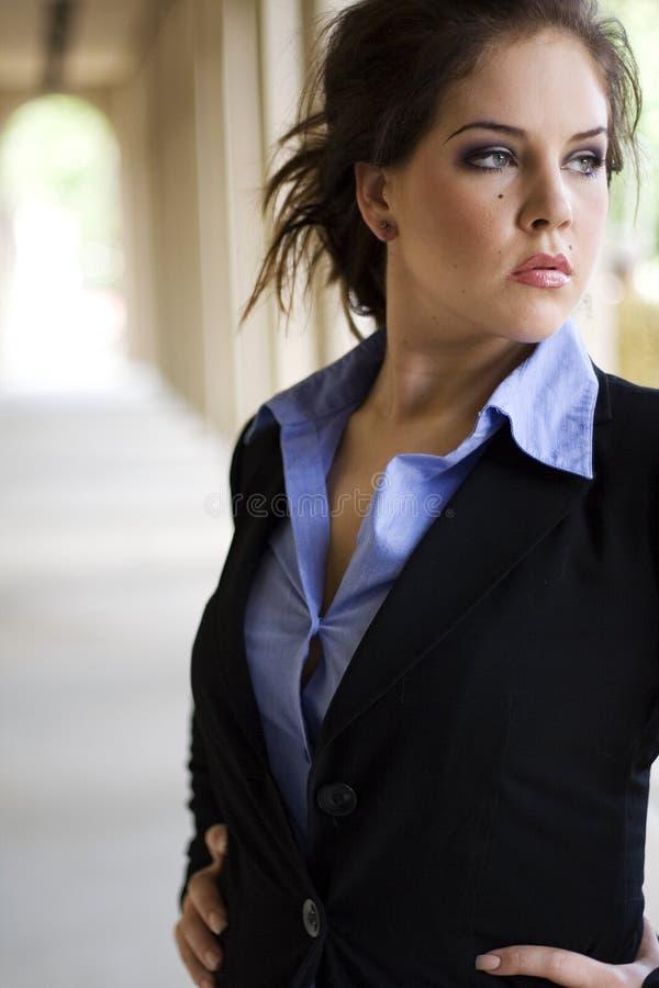 Brunette fashion model stock images