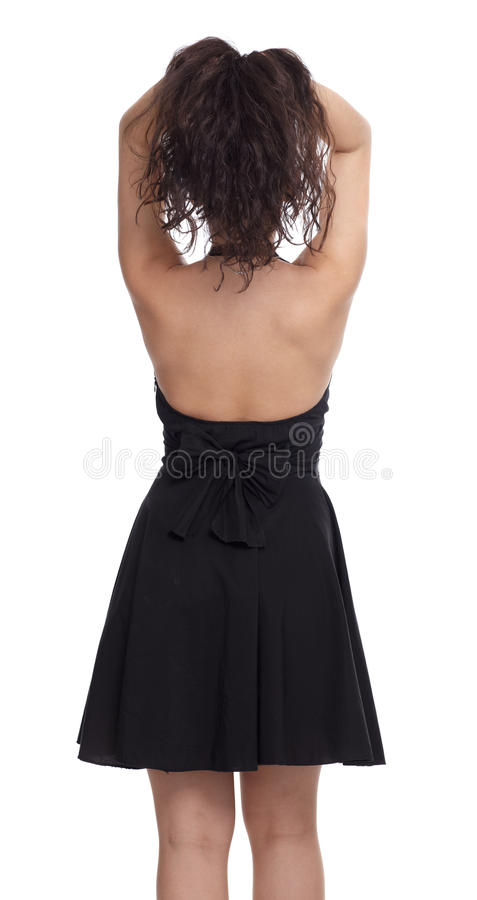 Brunette girl stock photos